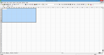 FileScreenshot of Microsoft Office Excel 2000