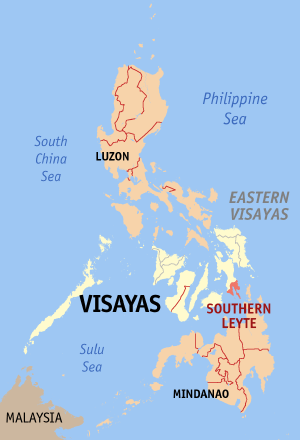 Ph locator map southern leyte
