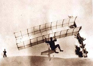 Chanute-Herring 1896 hang glider