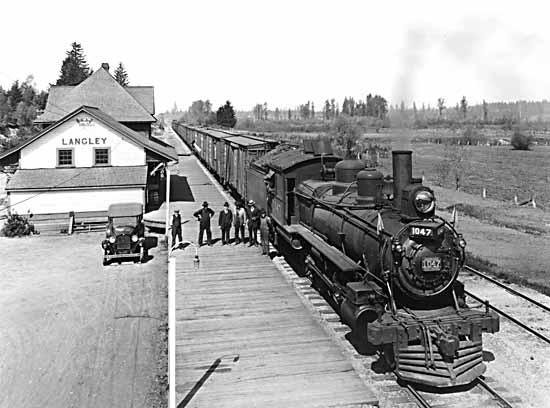 Langley Train Station