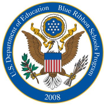United States Department of Education Blue Ribbon School Logo