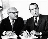Milton friedman y richard nixon