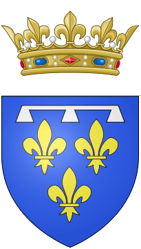 Coat of arms of Gaston, Duke of Orléans