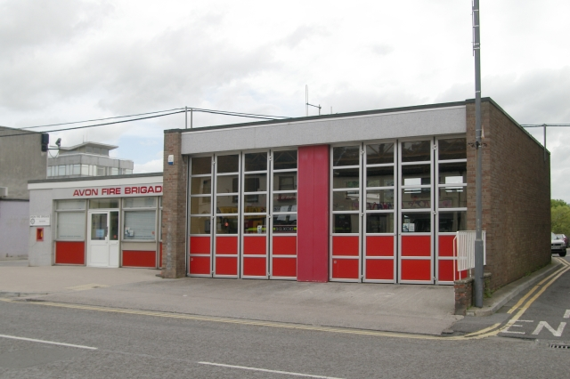Keynsham Fire Station - geograph.org.uk - 176837