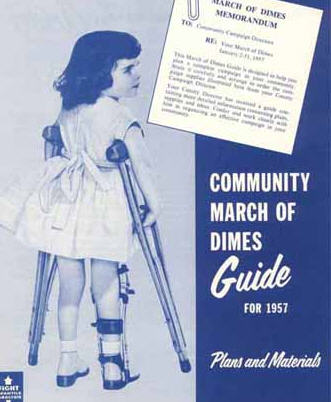 Salk March of Dimes poster