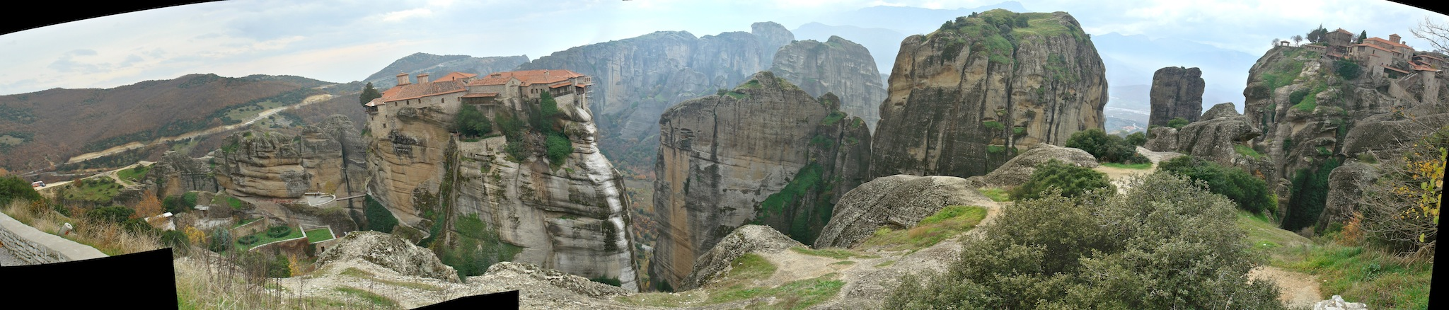 Varlaam and Grand Metereon, Meteora, Greece