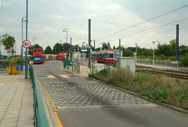 Addington Village bus and tram station