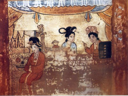 Fresco of the Tomb of Chao Ta-wêng 1