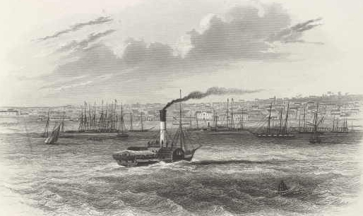 Geelong harbour 1857