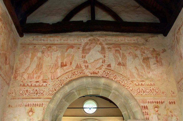 St John the Baptist, Clayton, Sussex - Wall painting - geograph.org.uk - 1506249