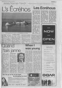 Jersey Evening Post Jersey Norman-French