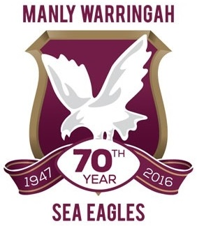 Manly Warringah Sea Eagles 70th Anniversary logo