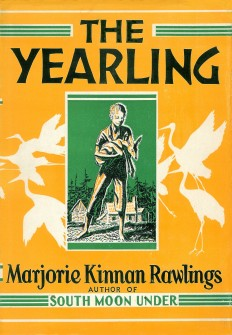 Cover of The Yearling 1938 Original.jpg