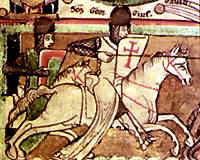 Crusader cavalry