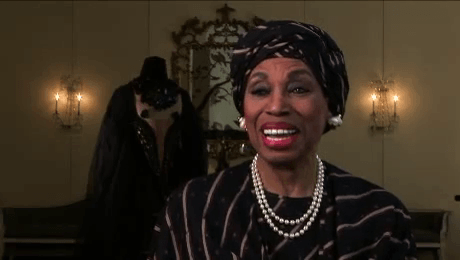 Leontyne Price - screencap of the NEA (National Endowment for the Arts) Opera Honors interview