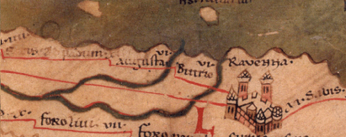 Ravenna(Peutinger Map)