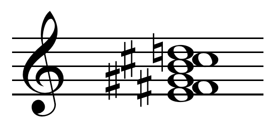 Thirteenth chord collapsed