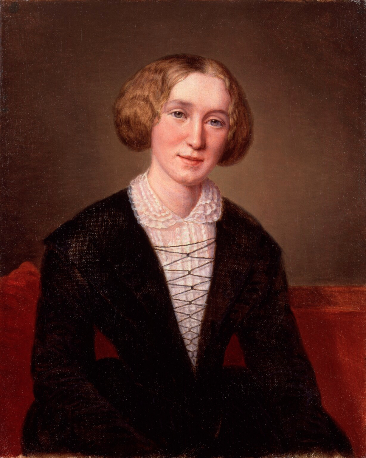 George Eliot at 30 by François D'Albert Durade