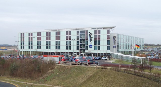 Radisson Hotel at Stansted Airport - geograph.org.uk - 321206
