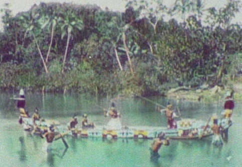 Solomon Islands canoe crop