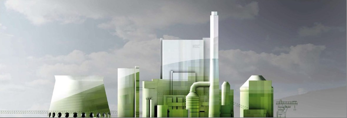 Power station mainz.conceptual design.direction southeast