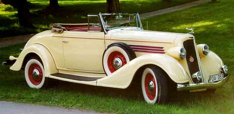 Buick 46C Convertible Coupe 1935