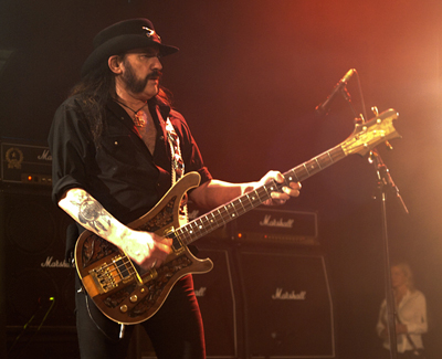 Lemmy Kilmister Motorhead in NYC by John Gullo