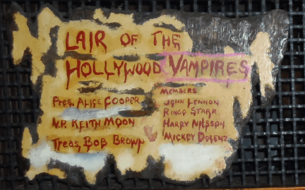 Lair Of The Hollywood Vampires