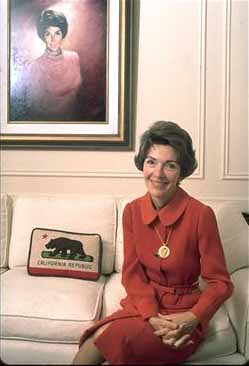 Nancy Reagan as First Lady of California