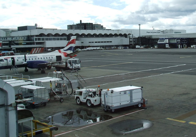 Airside at Glasgow - geograph.org.uk - 560639