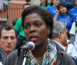 Ambassador Ertharin Cousin on Earth Day in Rome