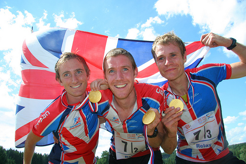 GB Gold WOC2008 Relay