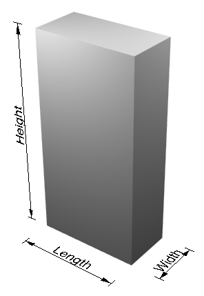 Height demonstration diagram