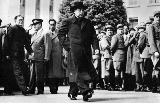 Zhou Enlai at Geneva