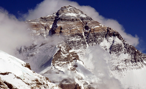 Everest Peace Project - Everest summit