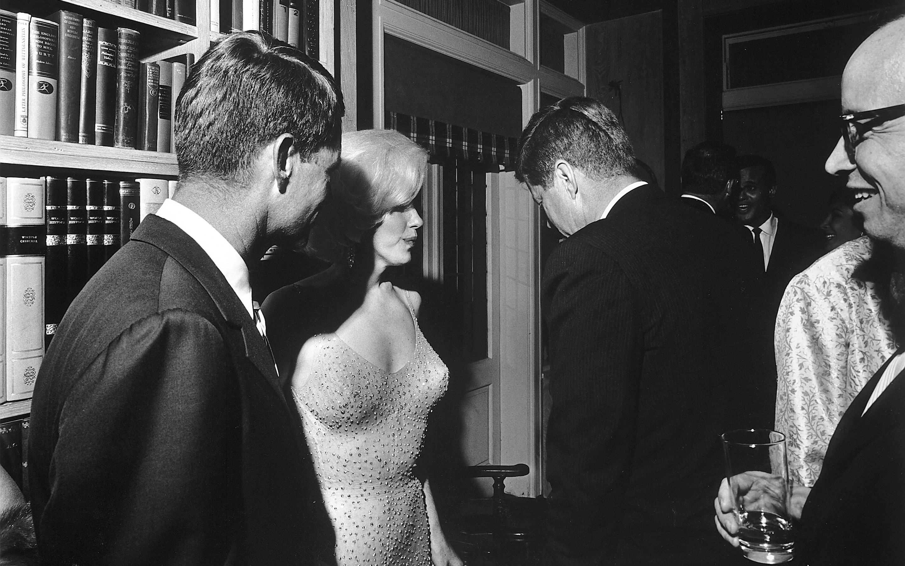 JFK and Marilyn Monroe 1962