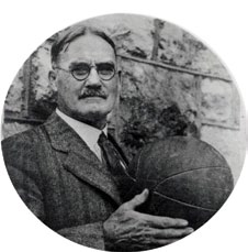 James Naismith with a basketball.jpg