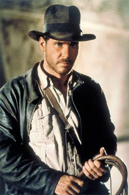 Indiana Jones in Raiders of the Lost Ark