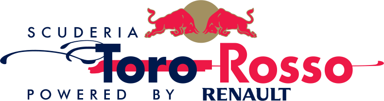 Scuderia Toro Rosso powered by Renault logo