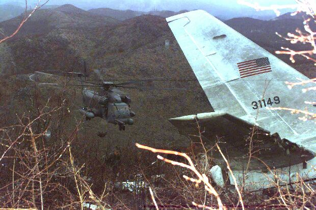 USAF CT-43A crash 1996