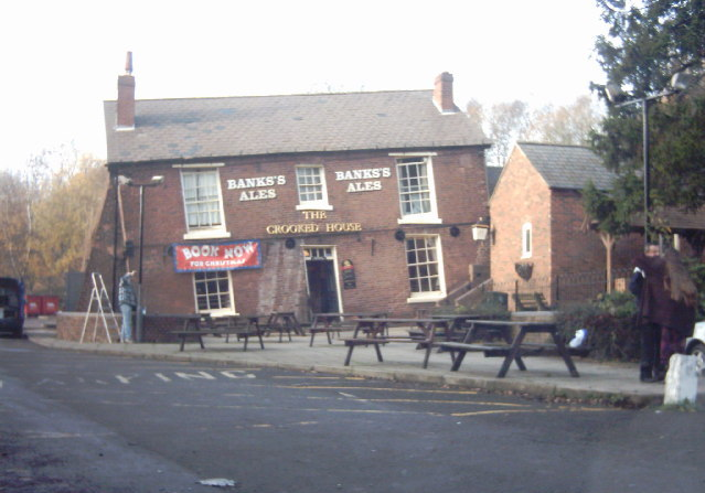 The Crooked House, Dudley - geograph.org.uk - 96790