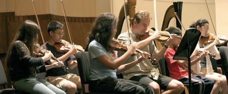 ASCAP and Manhattan School of Music summer campers