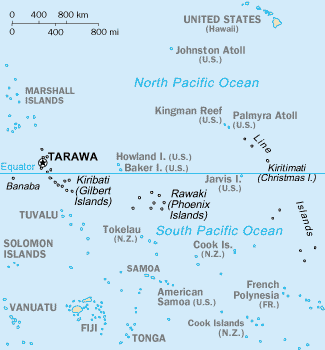List of settlements in Kiribati Facts for Kids