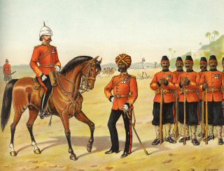 The Queen's Own Madras Sappers and Miners, Review Order