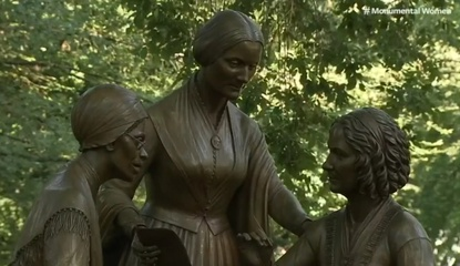 Women's Rights Pioneers Sculpture, unveiled 8-26-2020
