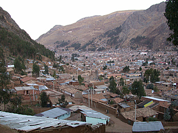 Huancavelica view