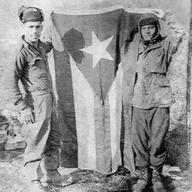 65th Infantry and Puerto Rican flage