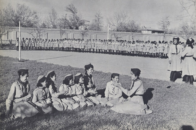 Afghan Girl Scouts 1950s