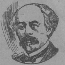 Drawing of Frédéric Passy