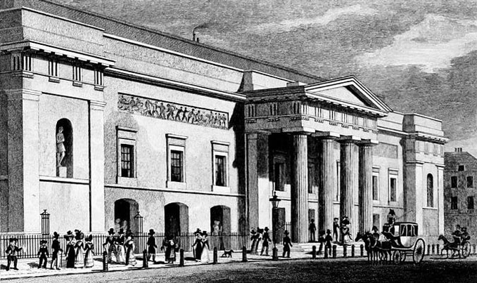Covent Garden Theatre 1827-28